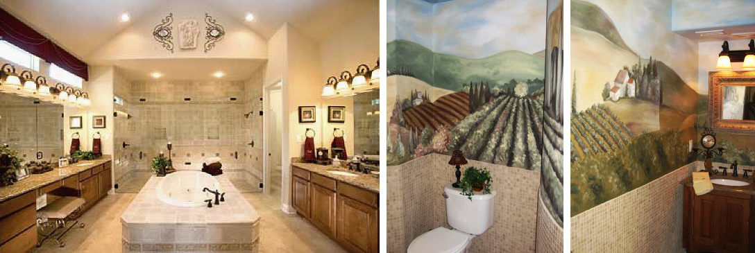 Interior Design San Antonio Texas, Interior Design Traditional Tuscan,  Tuscan Bathroom, Interior Design