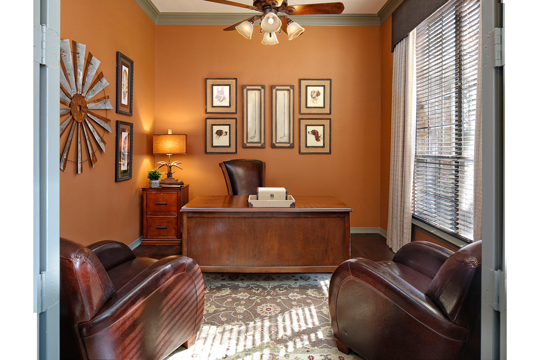 transitional rustic bachelor pad in double oak tx flower mound kristy mastrandonas interior