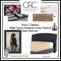 ONE ROOM CHALLENGE FALL 2018 – WEEK 2 – Ralph Lauren Southwest Lodge Inspired Guest Bedroom