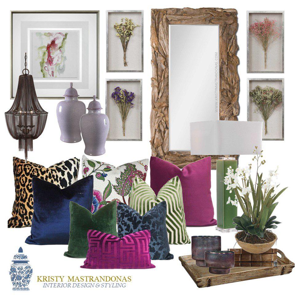 Kristy Mastrandonas Interior Design & Styling-The Finishing Touches Design Service-Bohemian Romance Collection