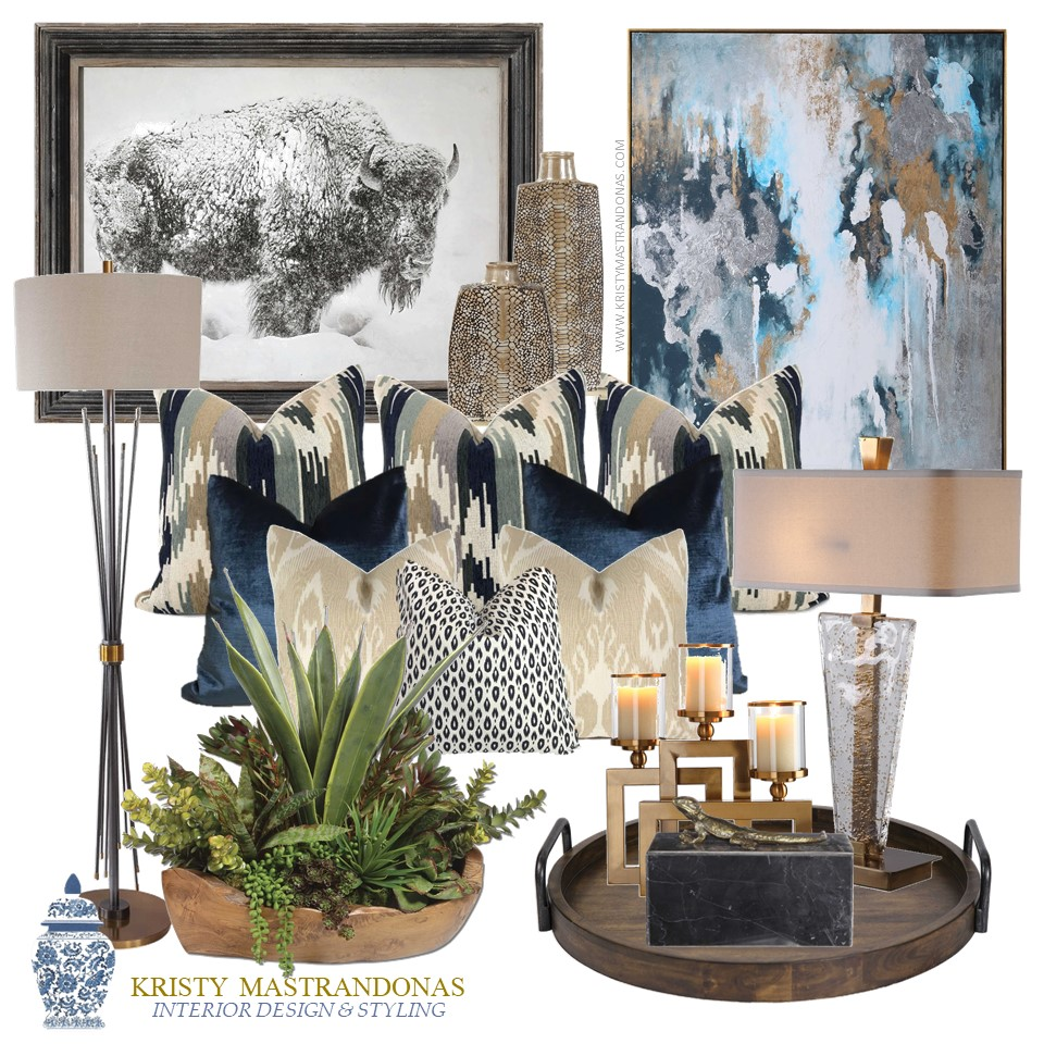 Kristy Mastrandonas Interior Design & Styling-The Finishing Touches Design Service-Southwest Chic Collection